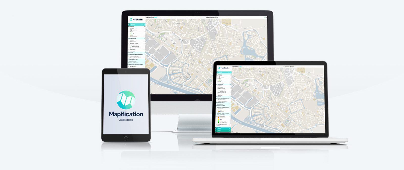 Visualisatie Maps Mapification