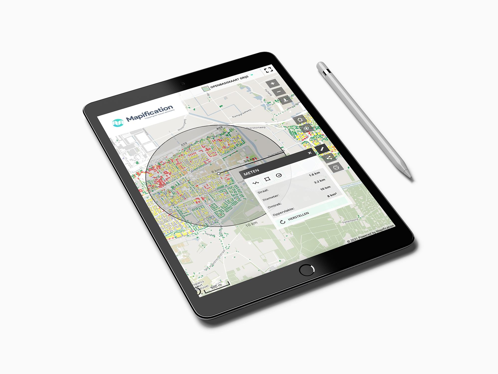 Maps functie Analyses
